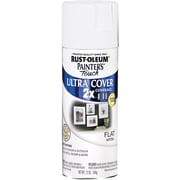 Rust-Oleum Painter's Touch 12 oz Ultra Cover Aerosol Paint, Flat White (PTUC249-49126)