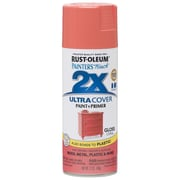 Rust-Oleum Painter's Touch 12 oz Ultra Cover Gloss Aerosol Paint, Coral (PTUCG249-189)
