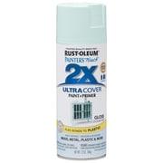 Rust-Oleum Painter's Touch 12 oz Ultra Cover Gloss Aerosol Paint, Ocean Mist (PTUCG249-063)