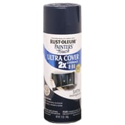 Rust-Oleum Painter's Touch 12 oz Ultra Cover Satin Aerosol Paint, Midnight Blue (PTUCS249-854)