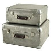 Aspire Hagen 2 Piece Suitcase Trunk Set