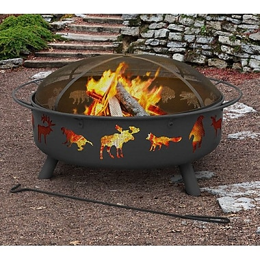 Landmann Super Sky Steel Wood Burning Fire pit
