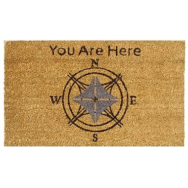 Rubber-Cal, Inc. Lost? You Are Here Doormat