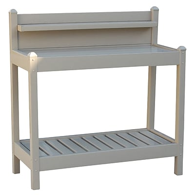 Dura-Trel Inc. Greenfield Potting Bench; Mocha