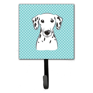 Caroline's Treasures Checkerboard Dalmatian Leash Holder and Wall Hook