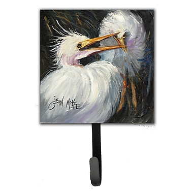 Caroline's Treasures Egret Leash Holder and Wall Hook