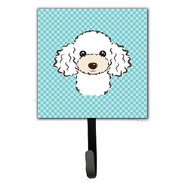 Caroline's Treasures Checkerboard Poodle Wall Hook