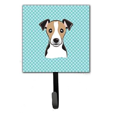 Caroline's Treasures Checkerboard Jack Russell Terrier Wall Hook
