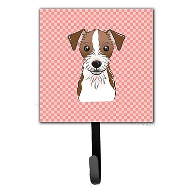 Caroline's Treasures Checkerboard Jack Russell Terrier Wall Hook