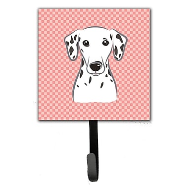Caroline's Treasures Checkerboard Dalmatian Wall Hook