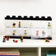 LEGO by Room Copenhagen Mini figure Display Case for 16+; Black