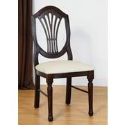 Benkel Seating Side Chair; Walnut