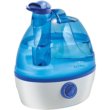 Comfort Zone – Humidificateur ultrasonique à vapeur de 0,6 gallon (HBCLCZHD24)