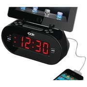 Dok Universal Dual Charger With Alarm Clock & Cradle