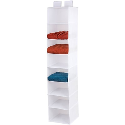 Honey-can-do Sft-01577 8-shelf Hanging Closet Organizer