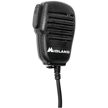 Midland Handheld/wearable Speaker Microphone With Push-to-talk For GMRS Radios