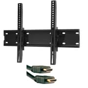 "Omnimount Tilt Mount 37-70"" 120lb & Axis High Speed HDMI Cable 9ft"