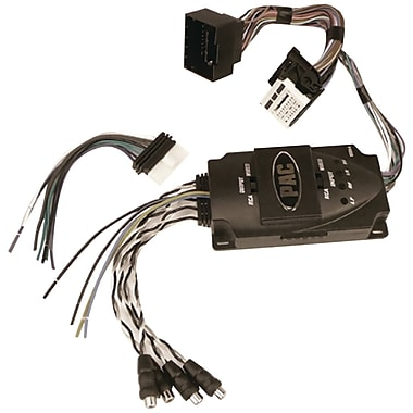 PAC Amp Integration Interface With Harness For Select 2010 And Up GM Vehicles (PACAAGM44)