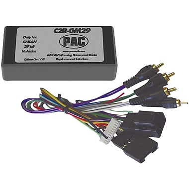 PAC Radio Replacement Interface 29-bit Interface For 2007 GM Vehicles With No OnStar System (PACC2RGM29)