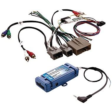 PAC – Interface de remplacement radio et de contrôle du volant tout-en-un pour certains véhicules Ford avec CANbus (PACRP4FD11)