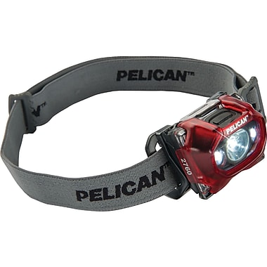 Pelican 133 Lumen LED Headlight, Red (PLO02760170)