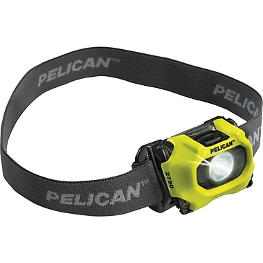 Pelican 193 Lumen LED Adjustable Headlight, Yellow (PLO2750247)