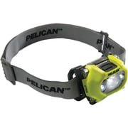 Pelican105-lumen 2765 Safety Approved 3-mode LED Headlight (yellow)