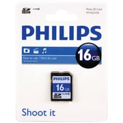 Philips Fm16SD45b/27 SDHC Card (16gb, Class 10)