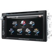 """Power Acoustik 6.5"""" Double-din In-dash LCD Touchscreen DVD Receiver (with Bluetooth®)"""