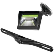 "Pyle Wireless Backup Parking-assist System With License Plate Camera, 4.3"" Monitor & Wireless Adapters"