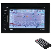 "Pyle 6.5"" Double-din In-dash LCD Touchscreen Navigation DVD Receiver With Built-in Gps & Bluetooth®"