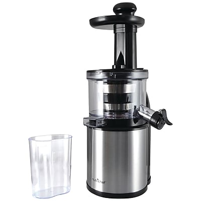 Pyle Home Nutrichef Kitchen Countertop Slow Juicer