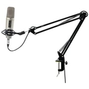 Pyle Pro Universal Table Clamp Boom Shock Microphone Mount
