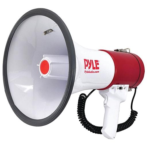 Pyle Pro Bluetooth Megaphone Bullhorn With Siren
