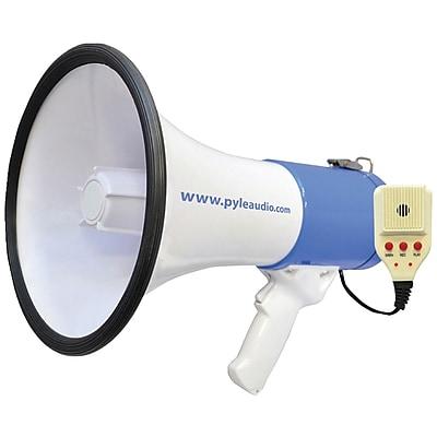 Pyle Pro 50-watt Megaphone Bullhorn With Record, Siren & Talk Modes