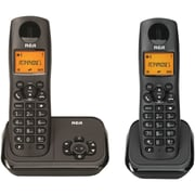 RCA Element Series Dect 6.0 Cordless Phone With Caller Id & Digital Answering System (2-handset System)