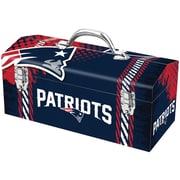"Sainty New England Patriots 16"" Tool Box"