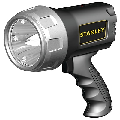 Stanley Rechargeable Li-ion LED Spotlight With Halo Power-saving Mode (600 Lumens, 3 Watts)