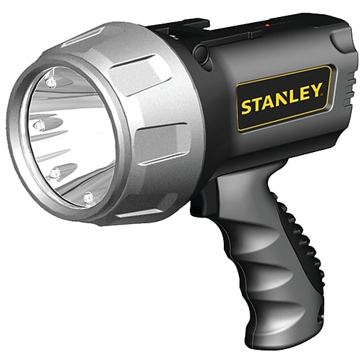 Stanley 5 Watt Led Rechargeable Spotlight: Stanley Rechargeable Li-ion LED Spotlight With Halo Power