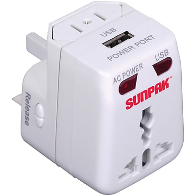 Sunpak Travel-adapt Universal Travel Adapter 2088673