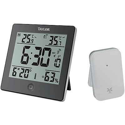 Taylor Digital Weather Forecaster With Alarm Clock