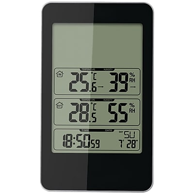 Taylor Indoor/outdoor Digital Thermometer With Barometer & Timer