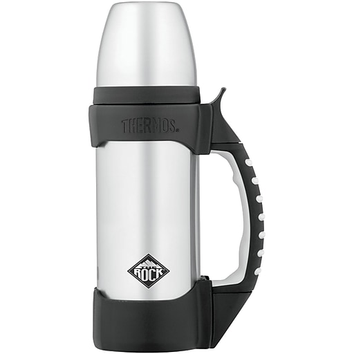 Thermos Stainless Steel Bottle, The Rock, 1L