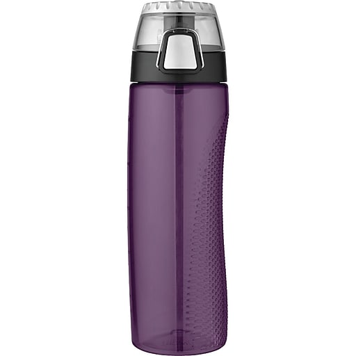 Thermos Tritan Hydration Bottle With Meter, Deep Purple, 710ml