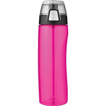 Thermos Tritan Hydration Bottle With Meter, Magenta, 710ml