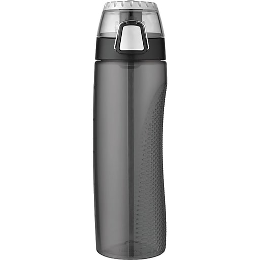 Thermos Tritan Hydration Bottle With Meter, Smoke, 710ml