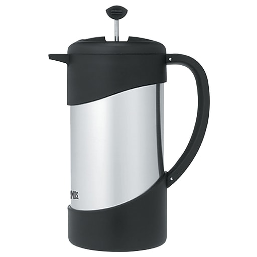 Thermos Stainless Steel Vacuum Insulated Coffee Press, 1l