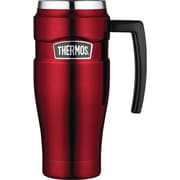 Thermos Stainless King Mug, 16oz (cranberry Red)