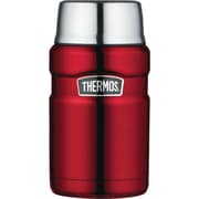 Thermos Stainless Steel Vacuum Insulated Food Jar, 24oz (cranberry Red)