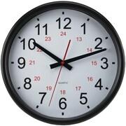 "Timekeeper 14"" 24-hour Wall Clock"